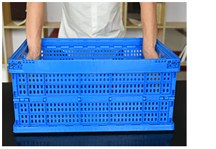 Unfolding Plastic Collapsible Crate 4