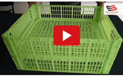 Thin-wall Folding Crates Video