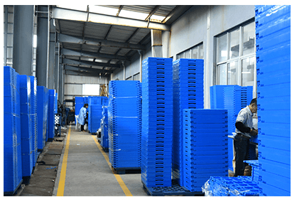 Plastic Collapsible Crates Production