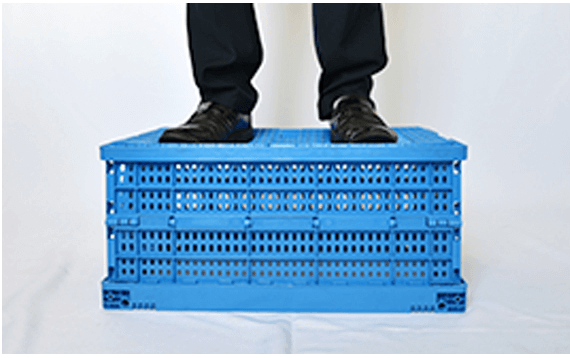 Strong Plastic Collapsible Crates