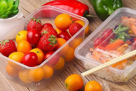 Plastic Disposable Food Containers - Excellent Storing