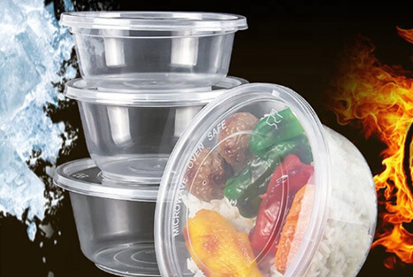 Plastic Disposable Food Containers - High Performance