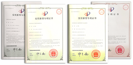 Plastic Disposable Food Containers - Patent Certificate