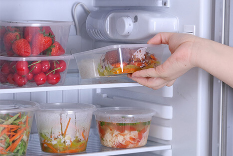 Plastic Disposable Food Containers - Various Applications