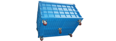 Collapsible Crate C Series With Wheel
