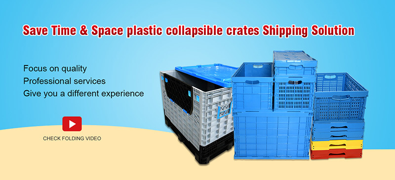 Reusable & Resistance Collapsible Crates Solution