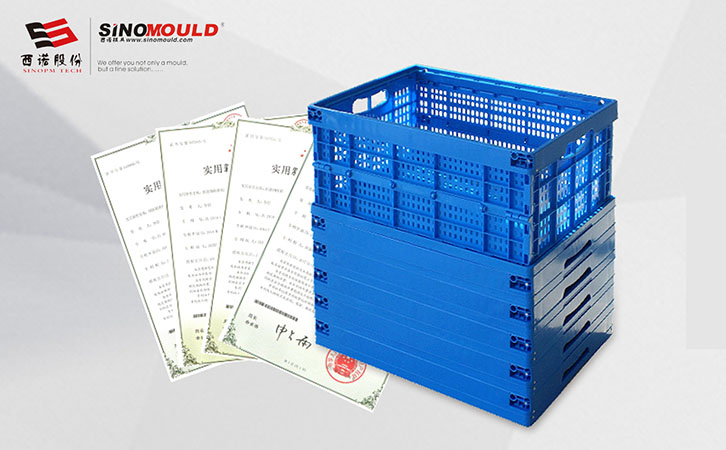 Plastic Foldable Storage Crate Manufacturer