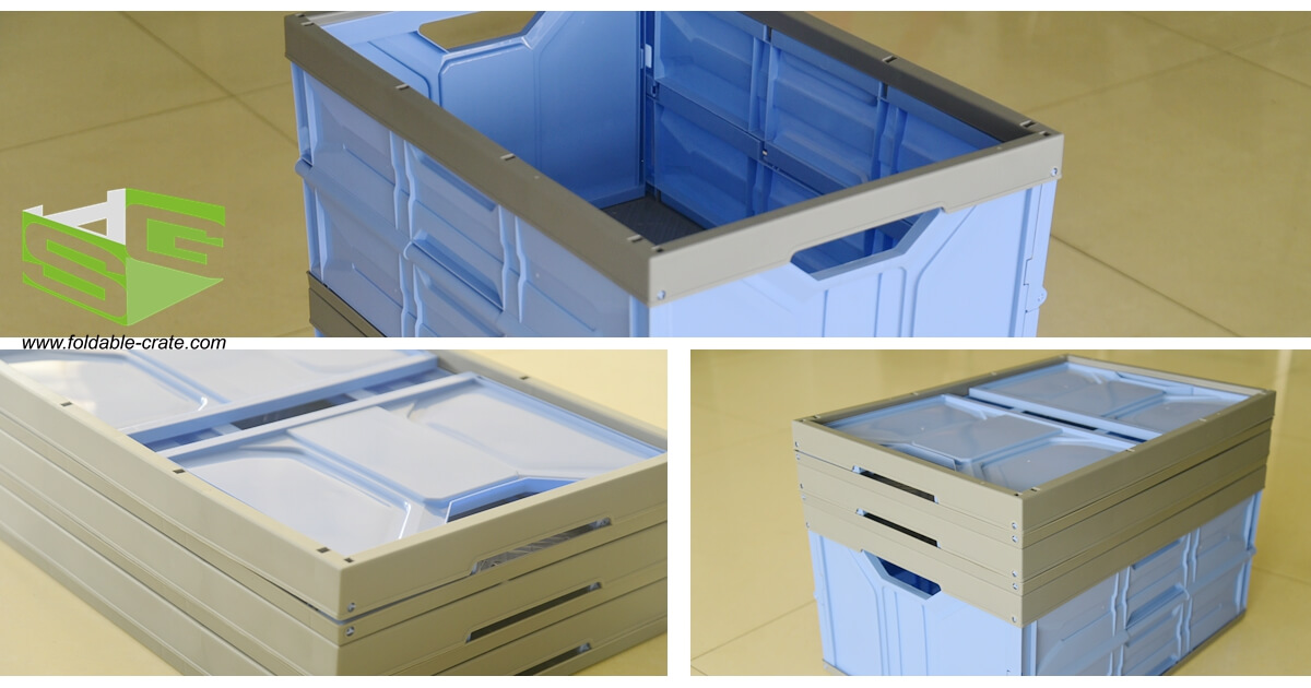SHG Plastic Folding Crate H Series