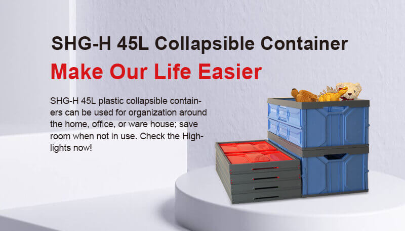 45L Collapsible Container