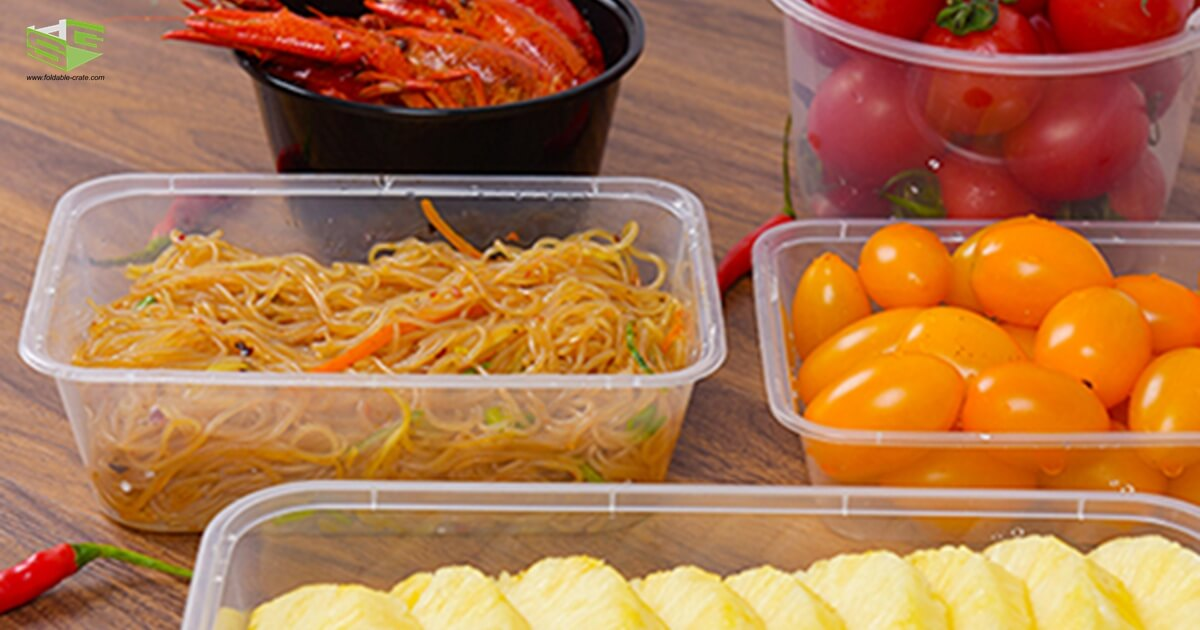 SHG Thin Wall Plastic Containers