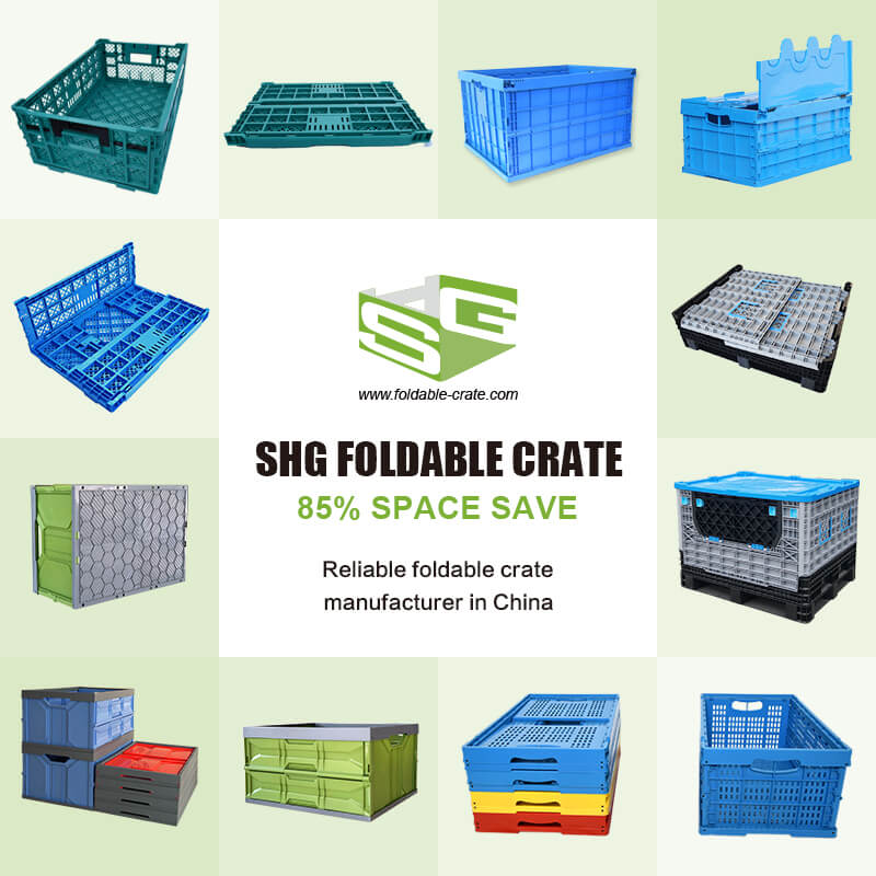 The Application of Plastic Foldable Crate